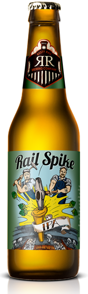 Rusty Rail Brewing Company Rail Spike IPA