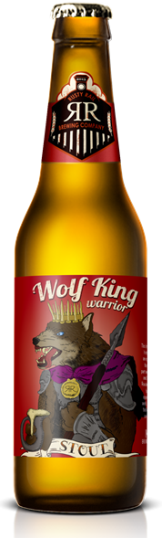 Wolf King Warrior Mockup