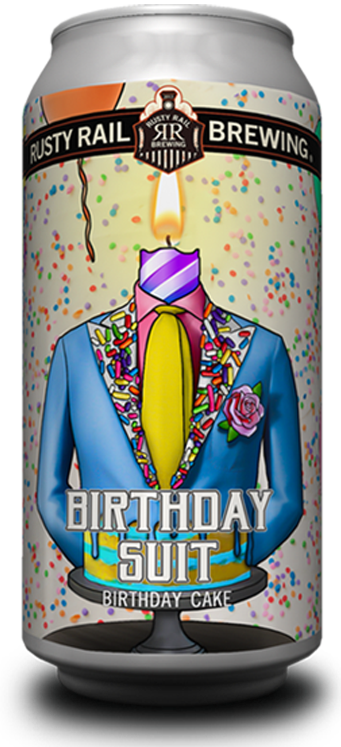 Birthday Suit - Birthday cake inspired ale