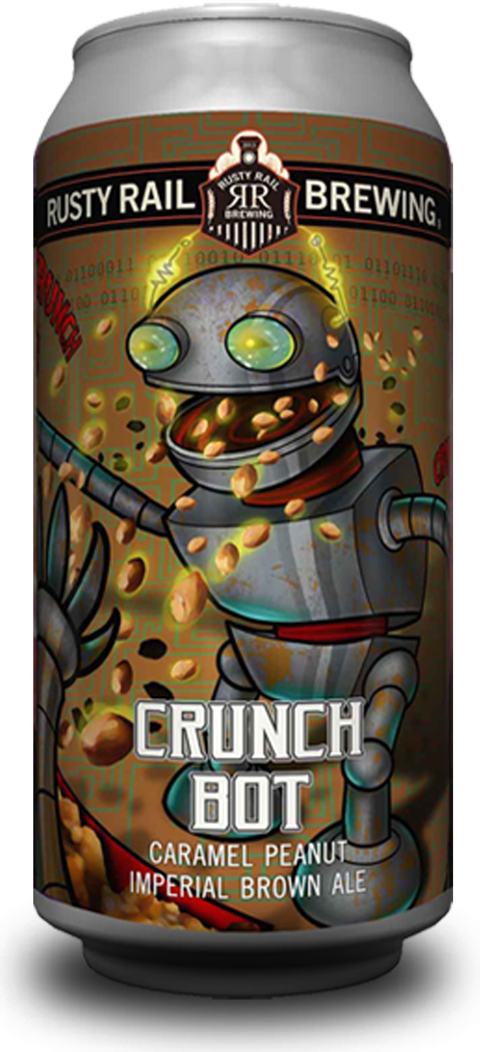 Crunch Bot - Caramel Peanut imperial Brown Ale