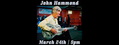 John Hammond at The State Theatre