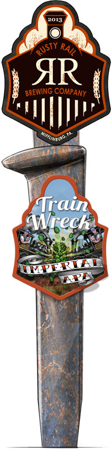 Train Wreck Imperial APA Rusty Rail Brewing Company