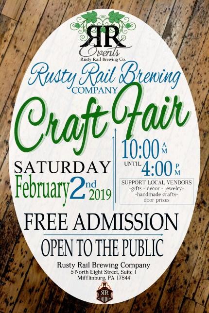 Rusty Rail Brewing Craft Fair Rusty Rail Brewing Company