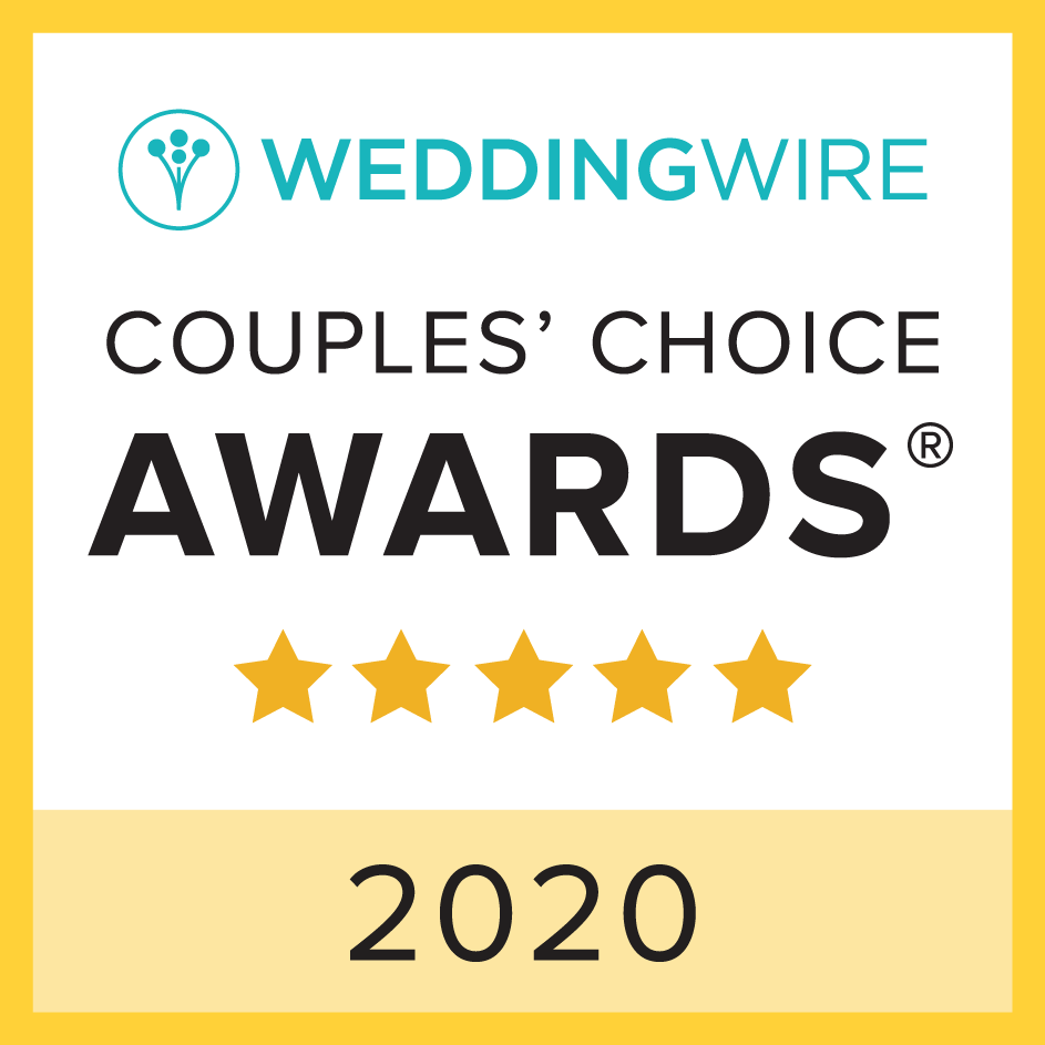 Rusty Rail Brewing Company WeddingWire Couples Choice Award Winner 2020