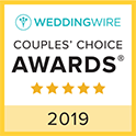 Rusty Rail Brewing Company WeddingWire Couples Choice Award Winner 2019
